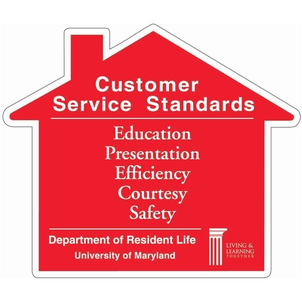Promotional House Shaped Magnet