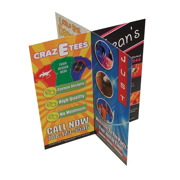 Promotional 2- Part (8 Sided) Table Tent - Paper Products