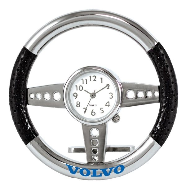 Promotional Black Steering Wheel Clock