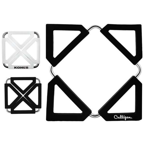 Promotional Silicone Trivet With Metal Frame