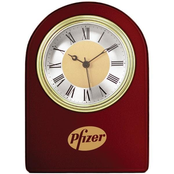 Promotional Wooden Arch Clock