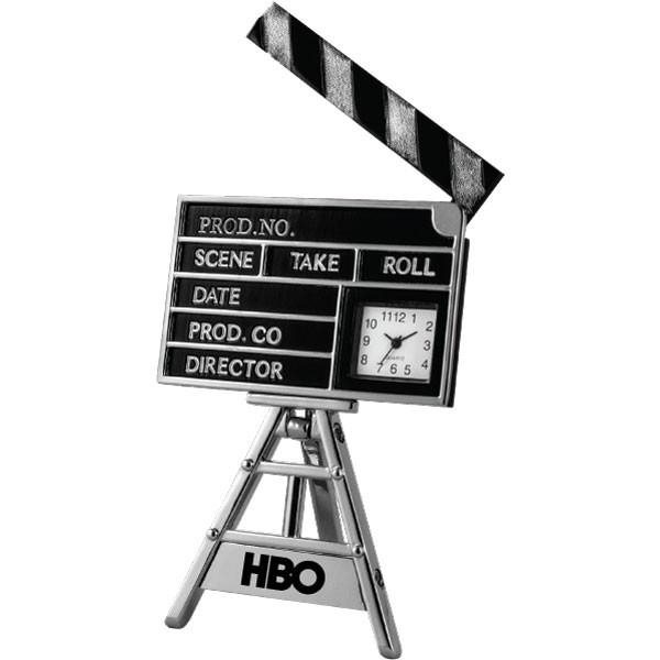 Promotional Movie Clap Board Clock