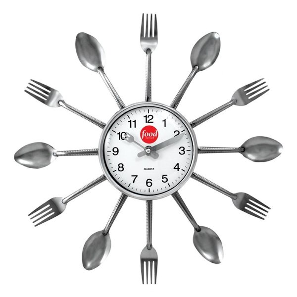 Promotional Utensils Clock