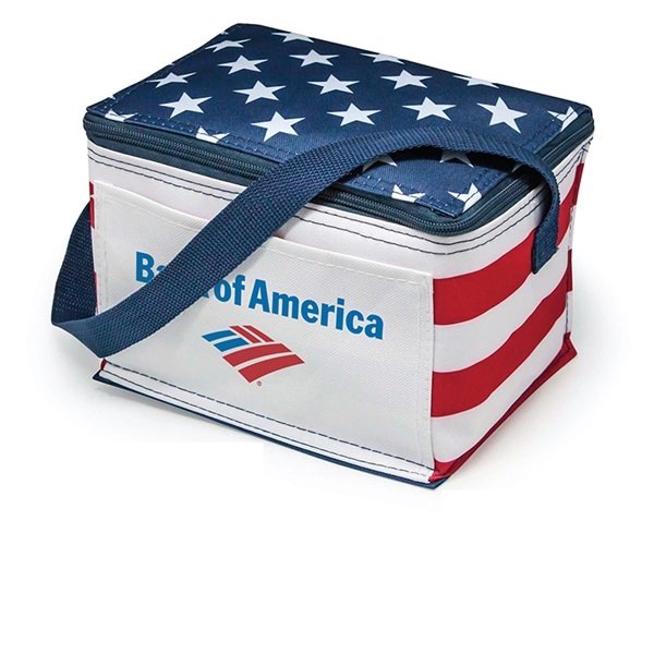 Promotional Promo Americana 6- Pack Cooler