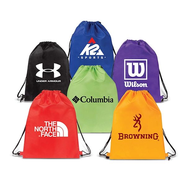 Promotional Quincy Drawstring Backpack