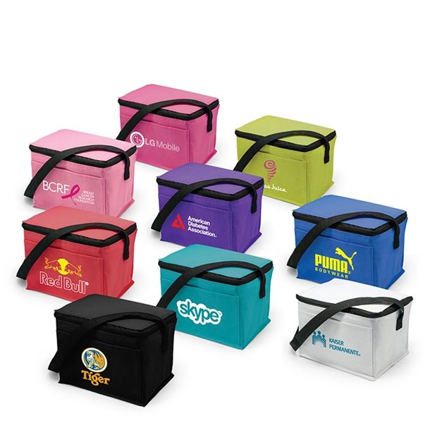 Promotional Brookes 6- Can Cooler