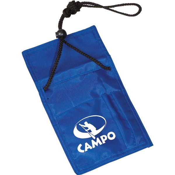 Promotional Badge Holder With Cord