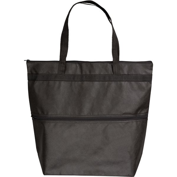 Promotional Fashion Zipper Tote Bag