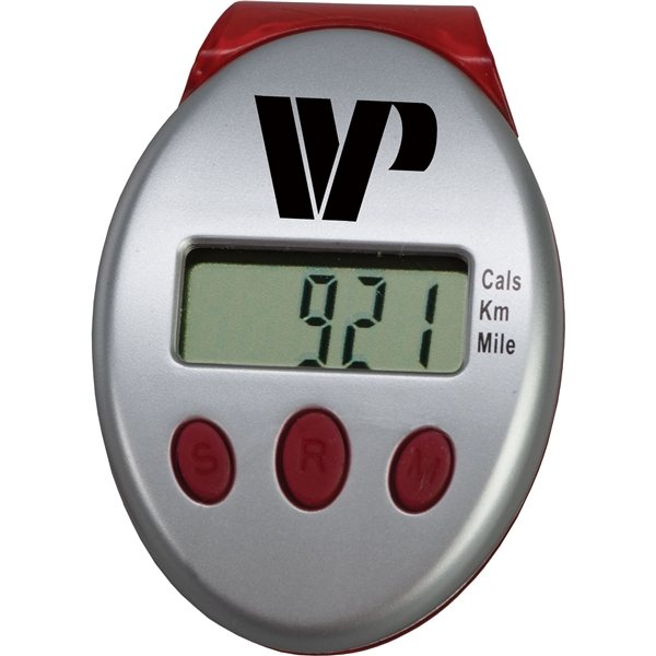 Promotional LCD CLip On Pedometer