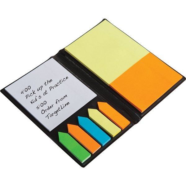 Promotional Executive Sticky Note Book With Arrow Flags