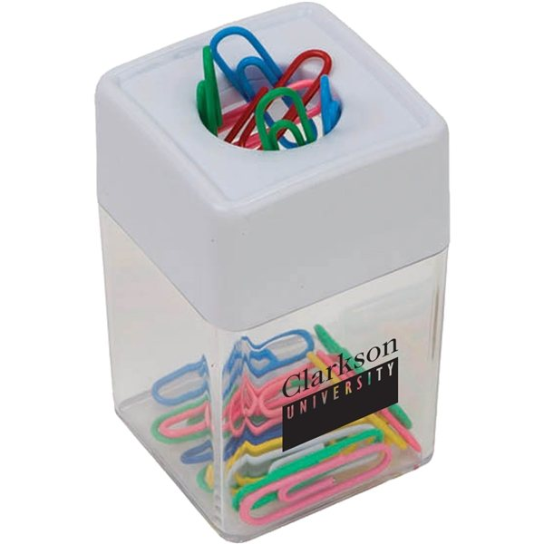 Promotional Paper Clip Dispenser