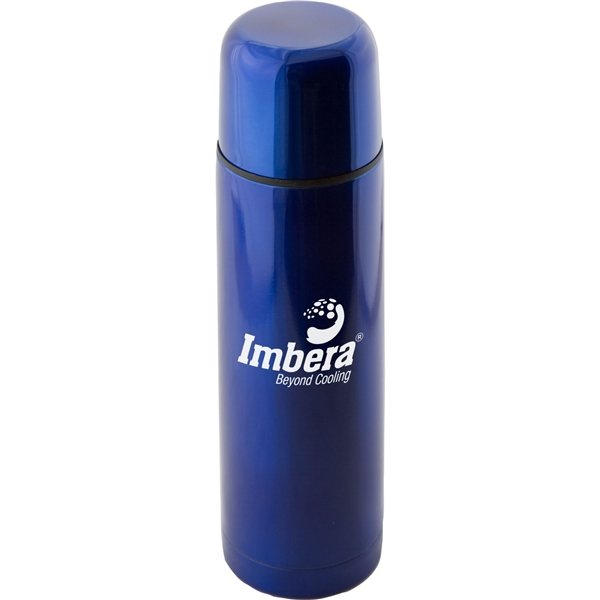 Promotional (16.9 oz) Stainless Steel Thermo Bottle With Case