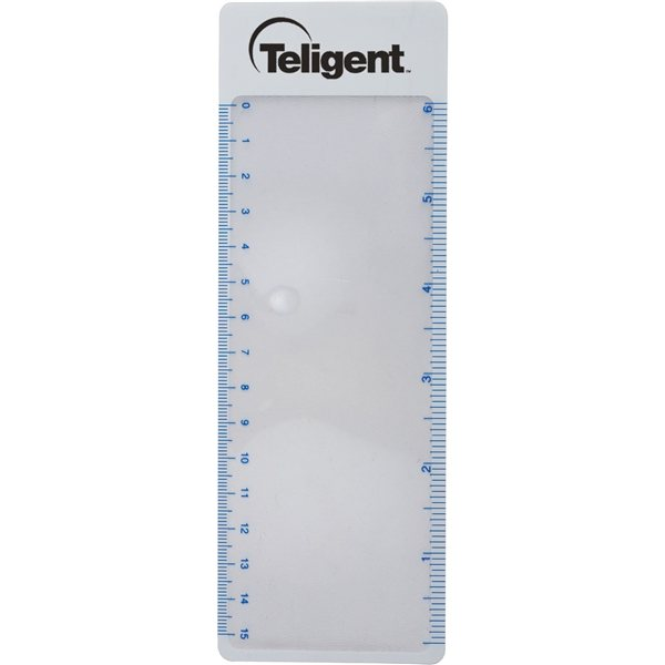 Promotional Pocket Book Sheet Magnifier Available With Or Without Tassel