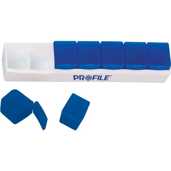 Promotional Removable Weekly Pill Box