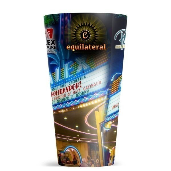 Promotional 20 oz ThermoServ Flair Tumbler With Sublimation