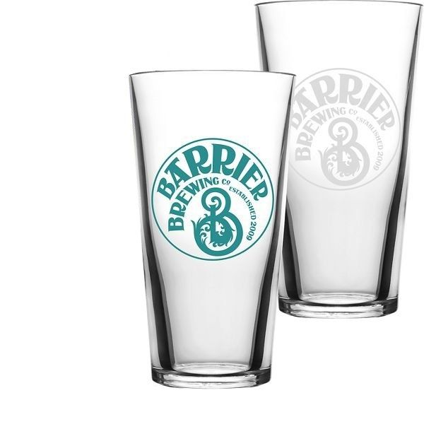 Promotional 16 oz Standard Mixing Synthetic Pint Glass