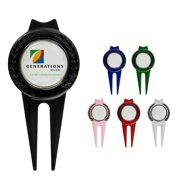 Promotional Tour Divot Tool with Magnetic Marker