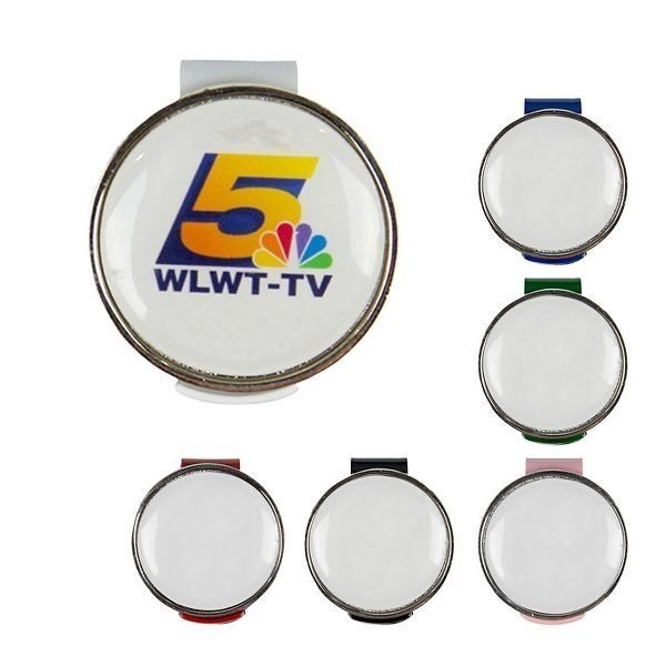 Promotional Magnetic Ball Marker Hat Clip with SureColor