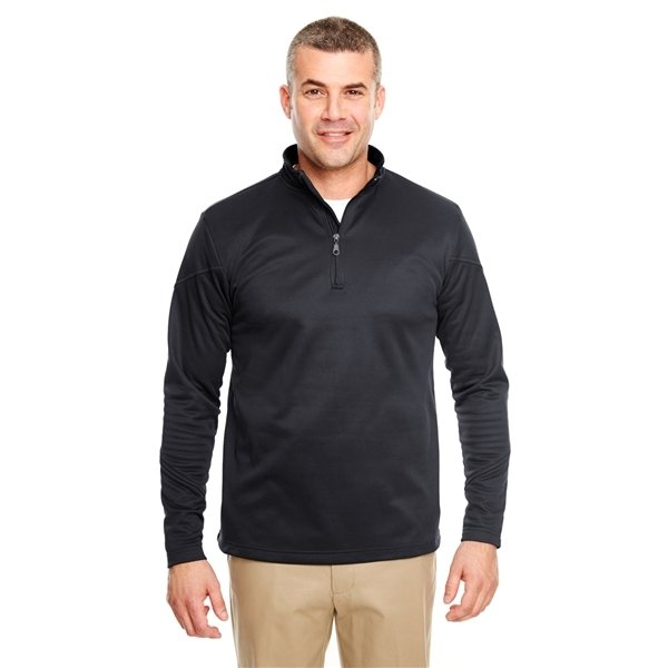 Promotional UltraClub(R) Cool Dry Sport Quarter - Zip Pullover Fleece