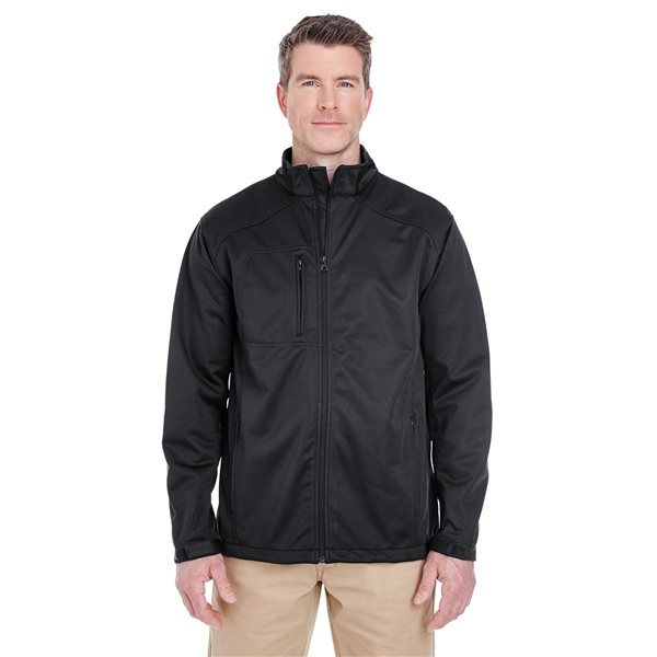 Promotional UltraClub(R) Solid Soft Shell Jacket
