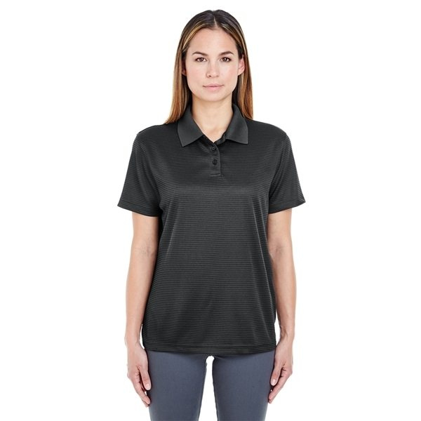 Promotional UltraClub(R) Cool Dry Elite Mini - Check Jacquard Polo