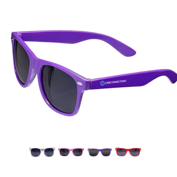 Promotional UV Protection Polycarbonate Sunglasses