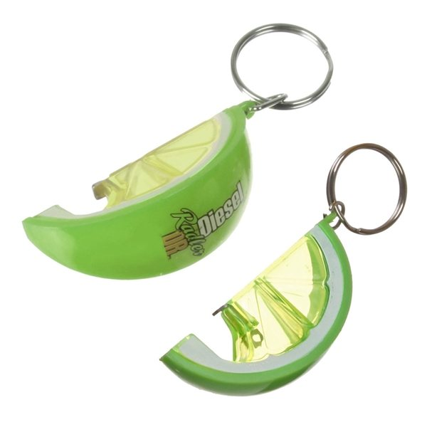Promotional Lime Slice Bottle Opener