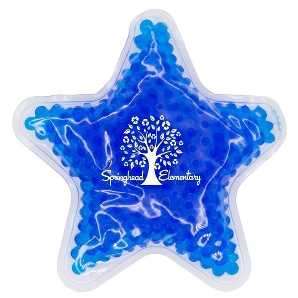 Promotional Star GelBead Hot / Cold Pack