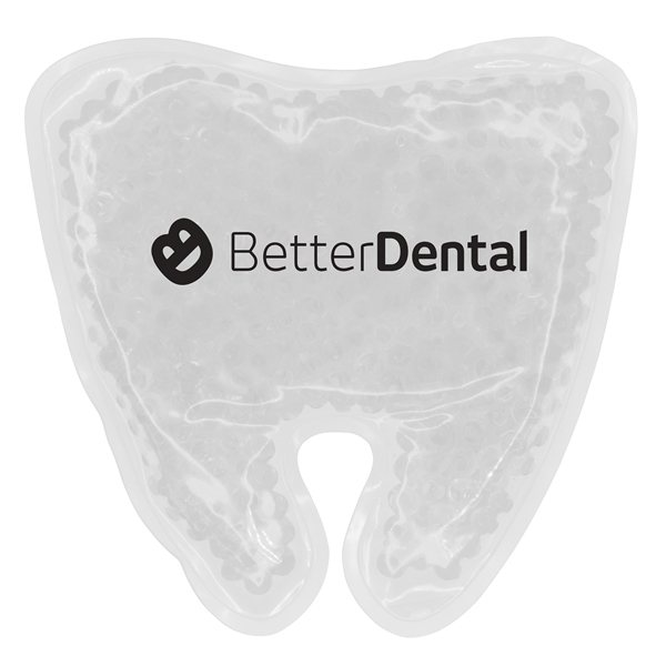 Promotional Tooth Gelbead Hot / Cold Pack