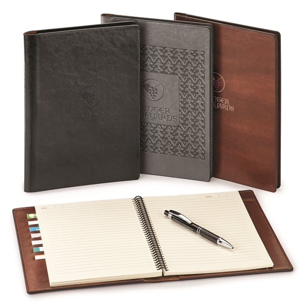 Promotional Fabrizio Padfolio Refillable ECO Notebook