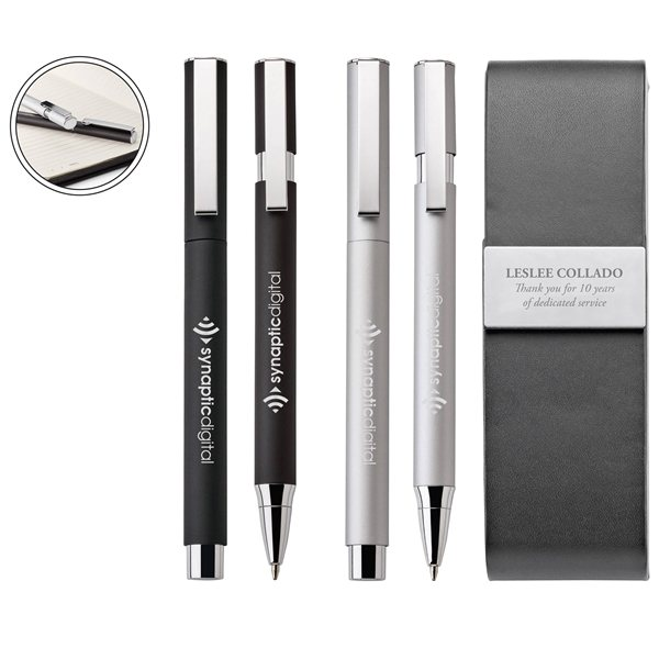 Promotional Willow Ballpoint Rollerball Set