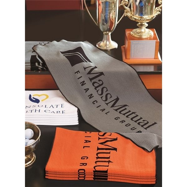 Promotional Links Caddy Towel