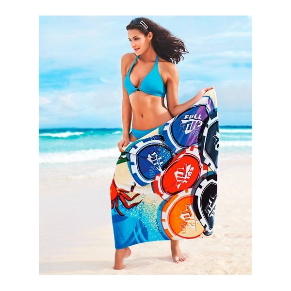 Promotional ColorFusion 30 x 60 Beach Towel (11 lbs./ doz.)