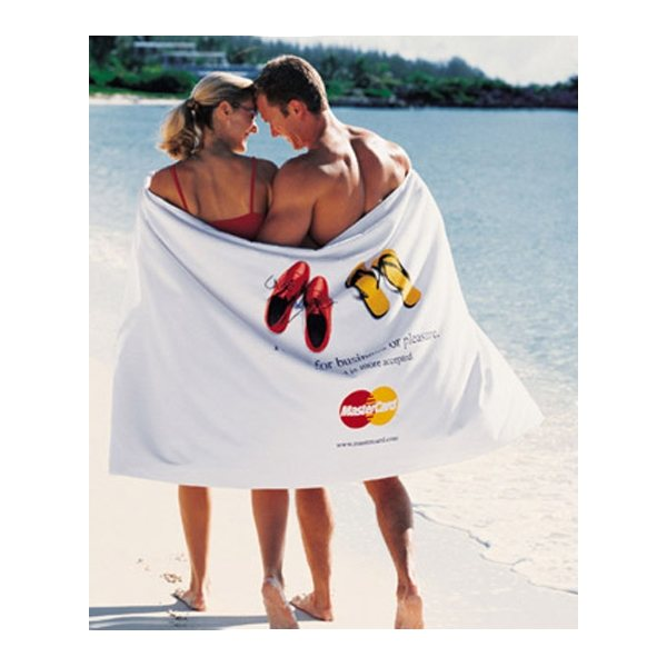 Promotional Turkish Signature Ultraweight 40 x 70 Beach Towel