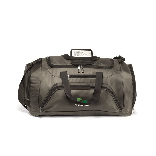 Promotional Cross Country Duffel - Gunmetal Grey
