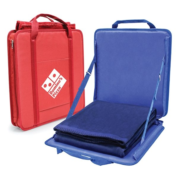 Promotional Portable Stadium Seat Blanket Set