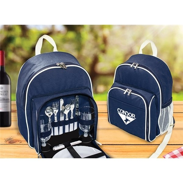 Promotional 2- Person Picnic Backpack Set