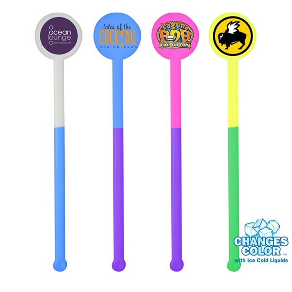 Promotional 6 Mood Stirrer, Full Color Digital