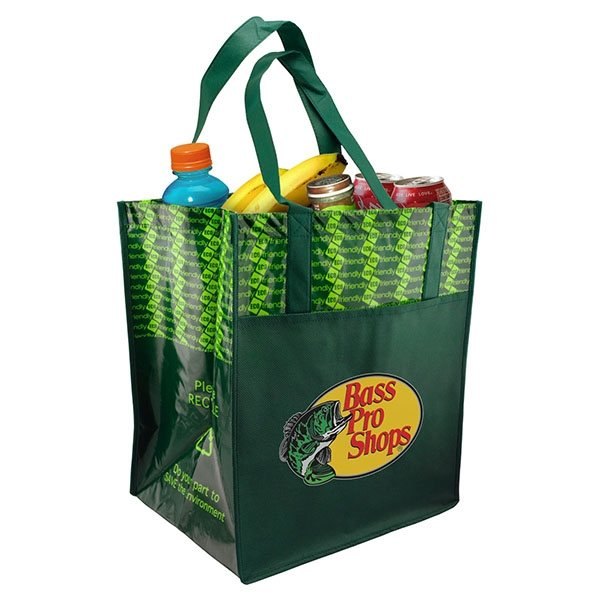 Promotional Non - Woven Grocery Tote Bag