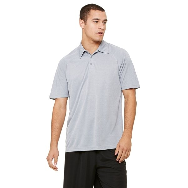 Promotional All Sport Performance Three - Button Raglan Polo