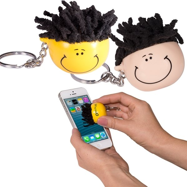Promotional Mop Topper(TM) Key Chain