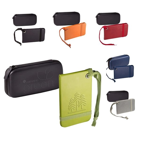 Promotional Tuscany(TM) Luggage Tags Set in a Case