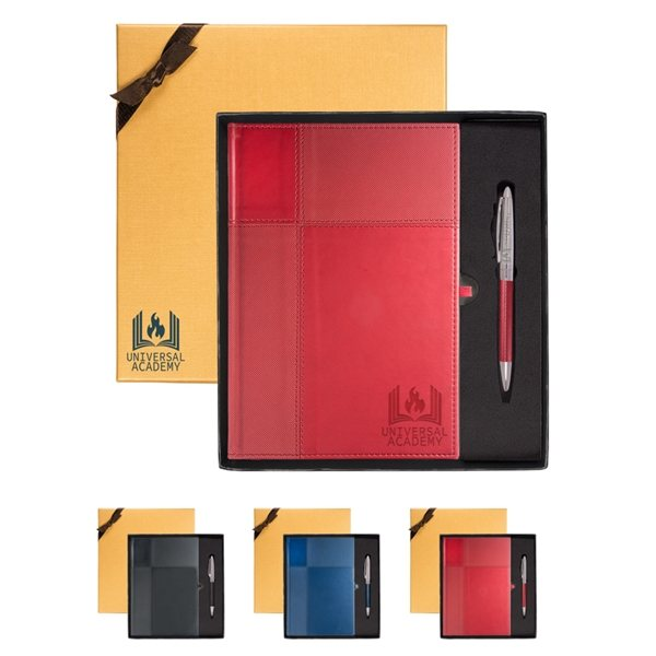 Promotional Duo - Textured Tuscany(TM) Journal Pen Gift Set
