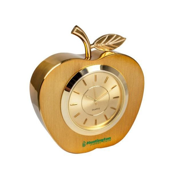 Promotional Metal Apple Clock