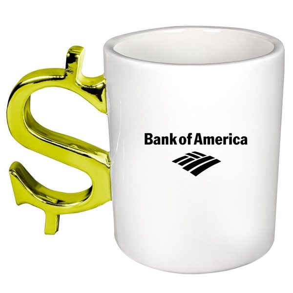 Promotional Dollar Sign Mug