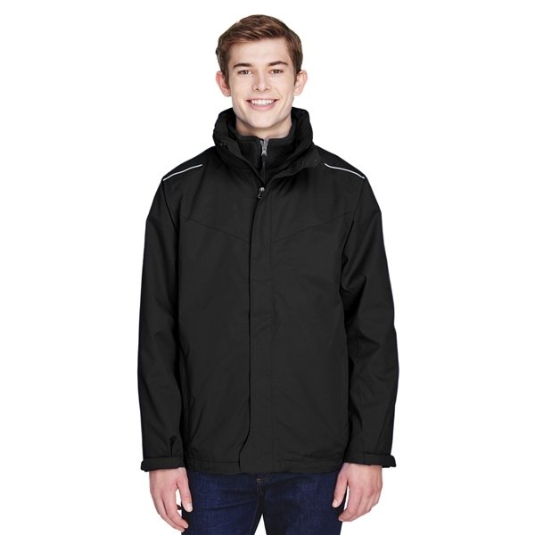 Promotional CORE365(TM) Region 3- in -1 Jacket With Fleece Liner