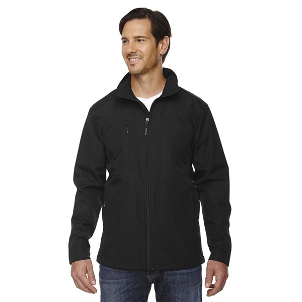 Promotional North End(R) Forecast Three - Layer Light Bonded Travel Soft Shell Jacket