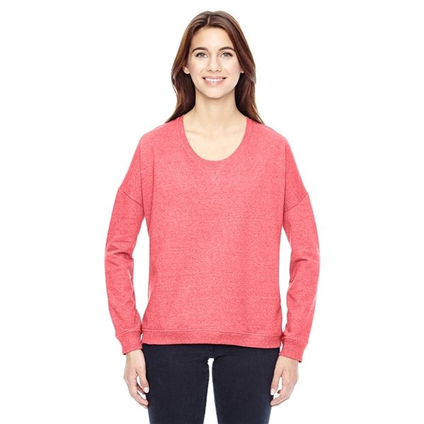 Promotional Alternative Ladies Eco - Mock Twist Sunset Crewneck