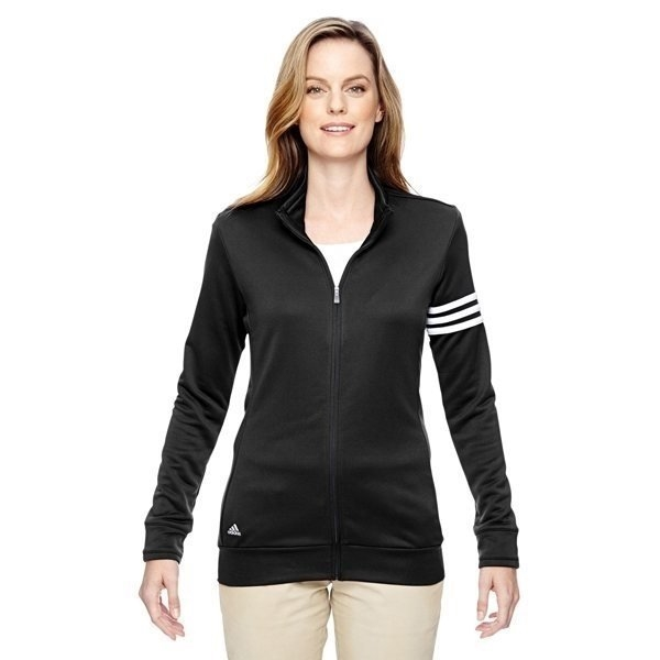 Promotional adidas Golf climalite 3- Stripes Full - Zip