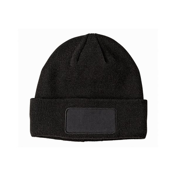 Promotional Big Accessories Patch Beanie